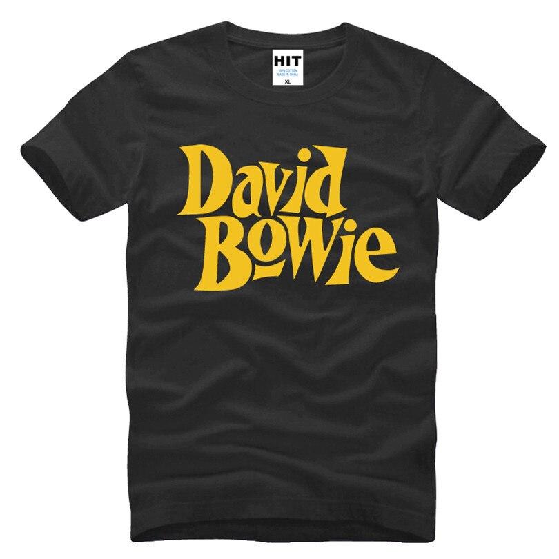 David Bowie Rock Music Memorial Männer T-Shirt T-Shirt Männer 2016 - Herrenbekleidung - Foto 5