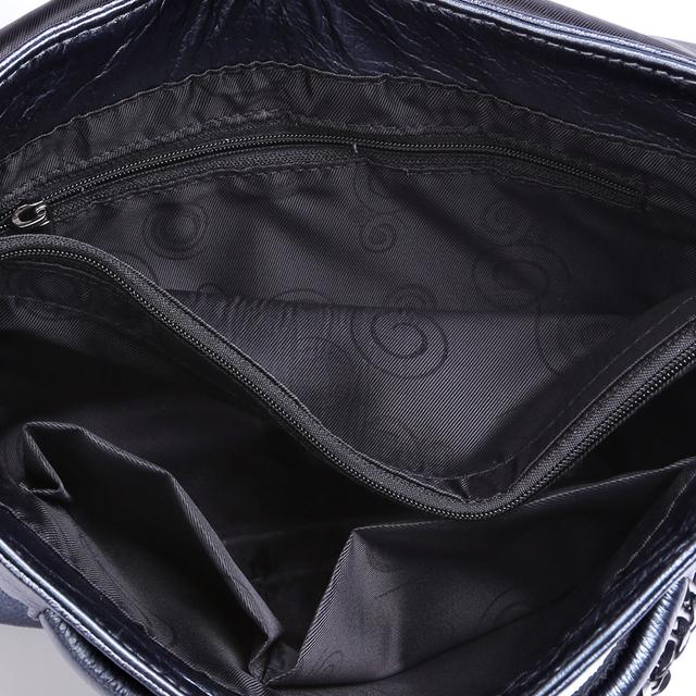 New 2017 ESUFEIR Brand Genuine Leather Women Messenger Bag Chains Shoulder Bag Fashion Envelope Clutch Bag Casual Crossbody Bag