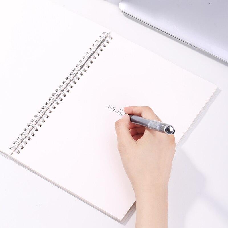 12 pcs s19 deli escritorio caneta gel 04