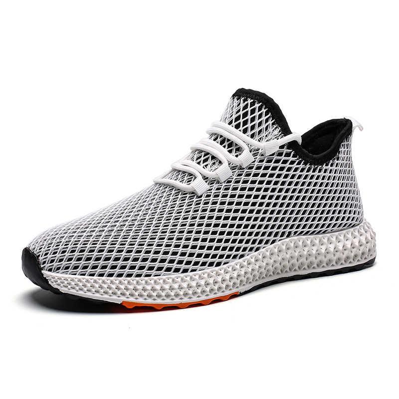 Mens Mesh รองเท้ารองเท้า 2019 รองเท้าผ้าใบแฟชั่นรองเท้า Krasovki Light Tenis Masculino วิ่งชายรองเท้ากลางแจ้ง