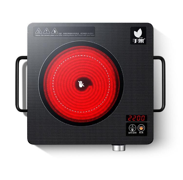 AC220 50 V 60 hz 2200 w potenza FORNELLO elettrico in ceramica stufa tè caffè riscaldamento bollente CALDAIA CAFFÈ 1 180 minuti di temporizzazione 22 file