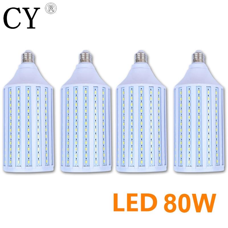 Inno 4pcs 80W LED Corn Bulb E27 220v LED Video Light Corn Lamp 5730 SMD Photo