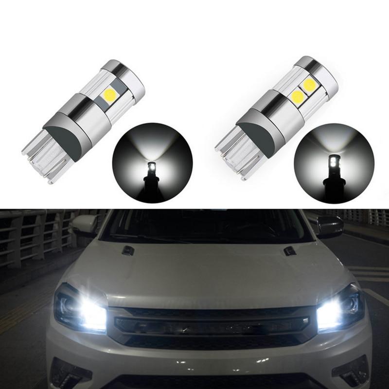 2x t10 led Bulb w5w LED Car Lights For Ford Focus 3 2 Audi A6 C5 BMW E60 E90 E34 Corolla Citroen C4 Nissan Qashqai Accessories