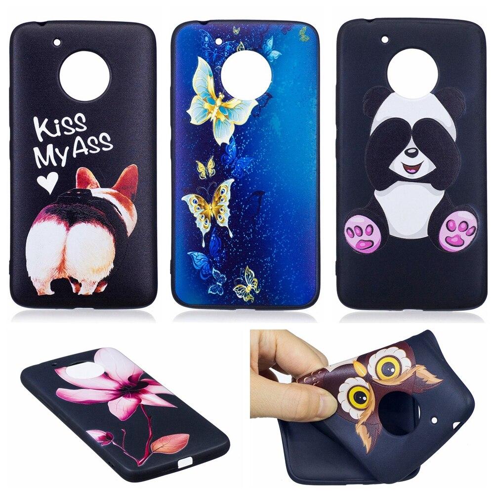 Phone Bags & Cases Wallet Cases Cute Rabbit Relief Case Sfor Carcasa Moto E4 European Version Soft Tpu Phone Case Estojo Relief Case For Motorola E4 Eu Version