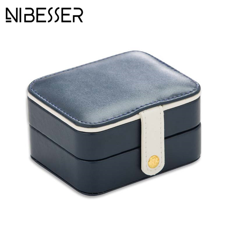 NIBESSER Minimalist Cosmetic Case Women Travel Jewelry Box Professional Jewel Casket Necessaries Make Up Organizer Storage Box