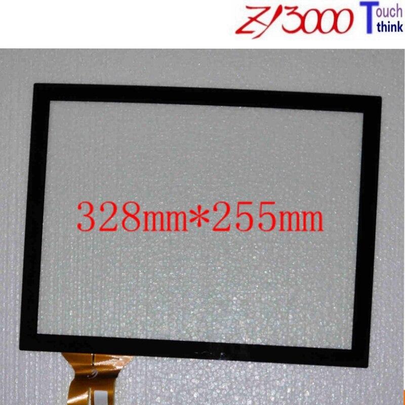 5 pcs/lot Stock offre spéciale 15 pouces 328*255 usb capacitif 10 points multi écran tactile panneau