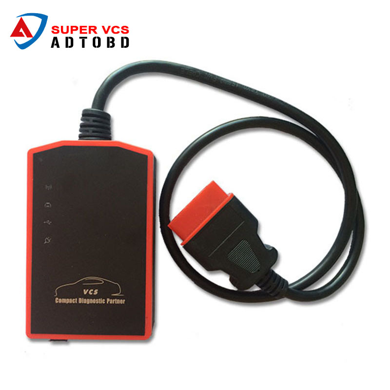 Hot Selling Super VCS Auto Diagnostic Tool Super-VCS Scanner Wireless Compact & Update by Email Free Shipping hot new xtuner e3 easydiag wireless obdii full diagnostic tool with special function pefect replacement for vpecker easydiag