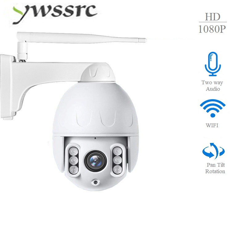 ywssrc 1080P 4X ZOOM PTZ Speed Dome WIFI IP Camera outdoor CCTV Security Camera Auto Tracking 2MP Onvif Surveilance Cameraywssrc 1080P 4X ZOOM PTZ Speed Dome WIFI IP Camera outdoor CCTV Security Camera Auto Tracking 2MP Onvif Surveilance Camera
