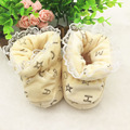 Recién nacido Para Las Niñas Lindo del Invierno de la Nieve Botas de Invierno Cálido Zapatos de Niño suave antideslizante Inferior Calcetín Lindo Kids Todder Boot T0089