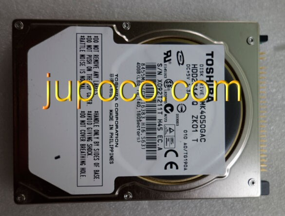 FREE SHIPPING MK4050GAC DISK DRIVE HDD2G16 T ZH01 T DC 5V 1 3A 40GB FOR mercedes