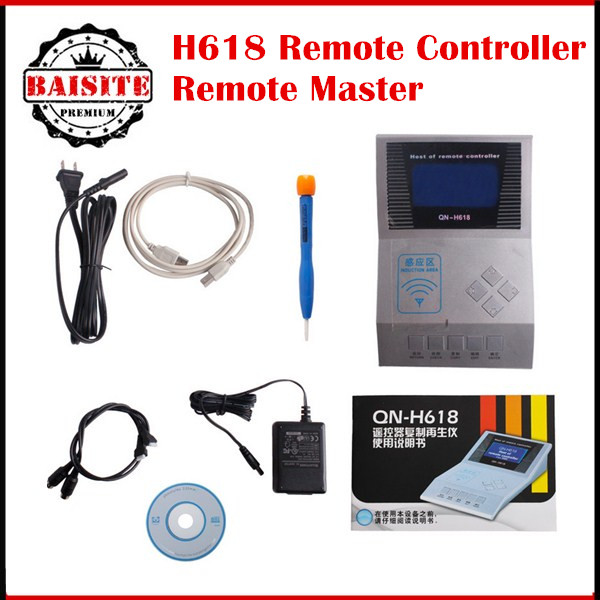 Prix pour Hotsale télécommande H618 Remote Master pour le sans fil RF télécommande H618 clé programmeur télécommande pour qn - H618