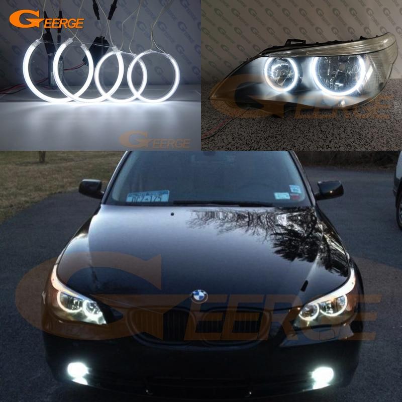 For BMW E60 E61 520i 525I 530I 540I 545I M5 2003 2007 Halogen headlight Excellent Ultra