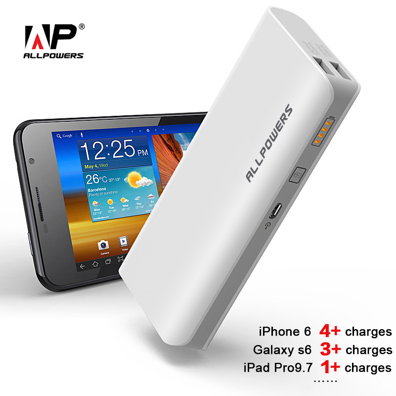 allpowers power bank 15600mah powerbank phone battery. Black Bedroom Furniture Sets. Home Design Ideas