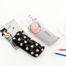 Hot New Juicy Peach Earphone Wire Box Data Line Cables Storage Box Case Container Coin Headphone Protective Box Case Container(China)