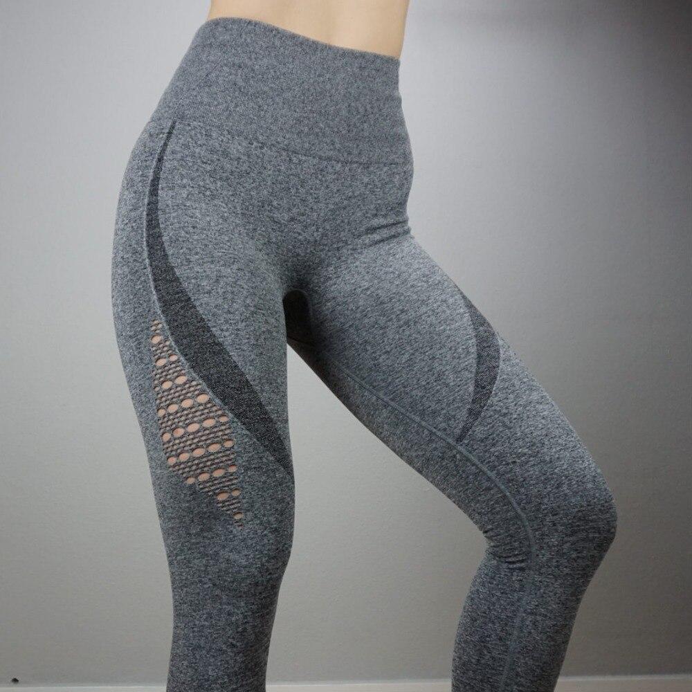 Nepoagym Girls Vitality Seamless Tummy Management Yoga Pants Tremendous  Stretchy Gymnasium Tights Excessive Waist Sport Leggings 621d51c23