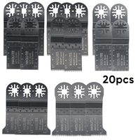 20pcs Oscillating Tools Precision Saw Cutter Blades For Fein Multimaster Makita