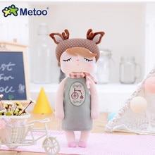Metoo Retro angela kawaii juguetes de peluche para niños niñas muñecas de conejo suave delicado compañero regalo