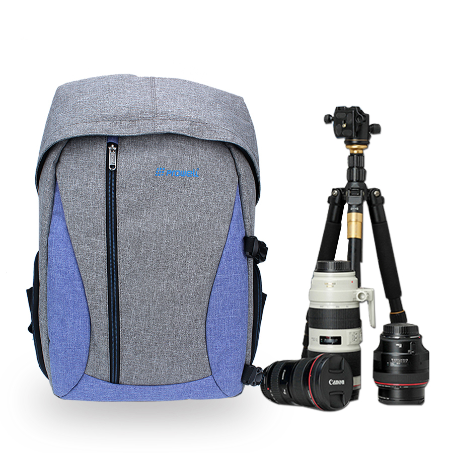 Photo Backpack DSLR Camera Bag For Canon 1300D 750D 60D 1200D 1100D 7D 6D 5D Mark iv iii ii 200D 600D T6 Canon Camera Bag huwang dslr camera bag case for canon eos 1300d 5d 6d 7d ii iii 800d 77d 750d 60d nikon d3400 d5300 sony alpha a7 photo backpack