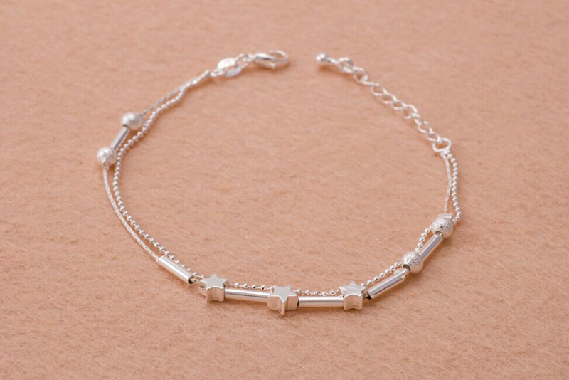 imixlot Little Star Gold Silver Plated Chain Ankle Bracelet Barefoot Sandal Beach Foot Jewelry
