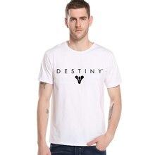 Destiny Skull Emblem Tops Man Short Sleeve T-Shirt For Men Tee On Sale Clothes Geek T Shirt High quality Casual T shirt M19-4#