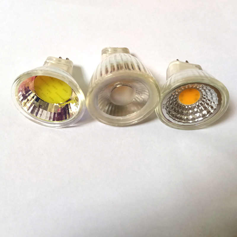 1PCS/LOT MR11 COB led spotlight 5W 7W 9W Dimmable led lights AC DC 12V MR11 Cob led bulb Warm White Cold White 220V LED lampada