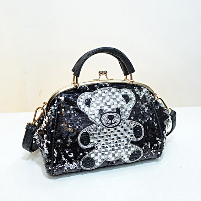 48976f7b3 Diamond Women's Leather Handbags hello kitty Women Messenger Bags Female  rivet Clutch Crossbody Shoulder Bag Tote bolsos mujer-in Top-Handle Bags  from ...