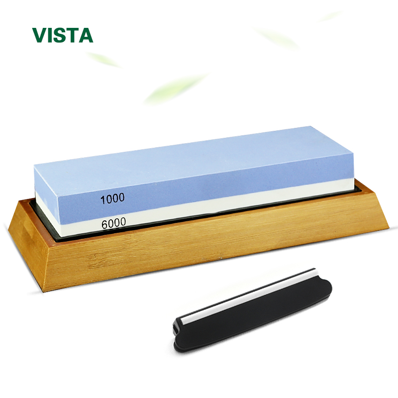 Knife Sharpener Whetstone Sharpening Stones grinding stone System water stone honing kitchen Tool 2-IN-1 240 600 1000 3000 grit(China)