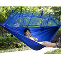 Strength Fabric Mosquito Net  Portable Extra High Camping Hammock Lightweight Hanging Bed Durable Packable Travel Bed(3 Color))