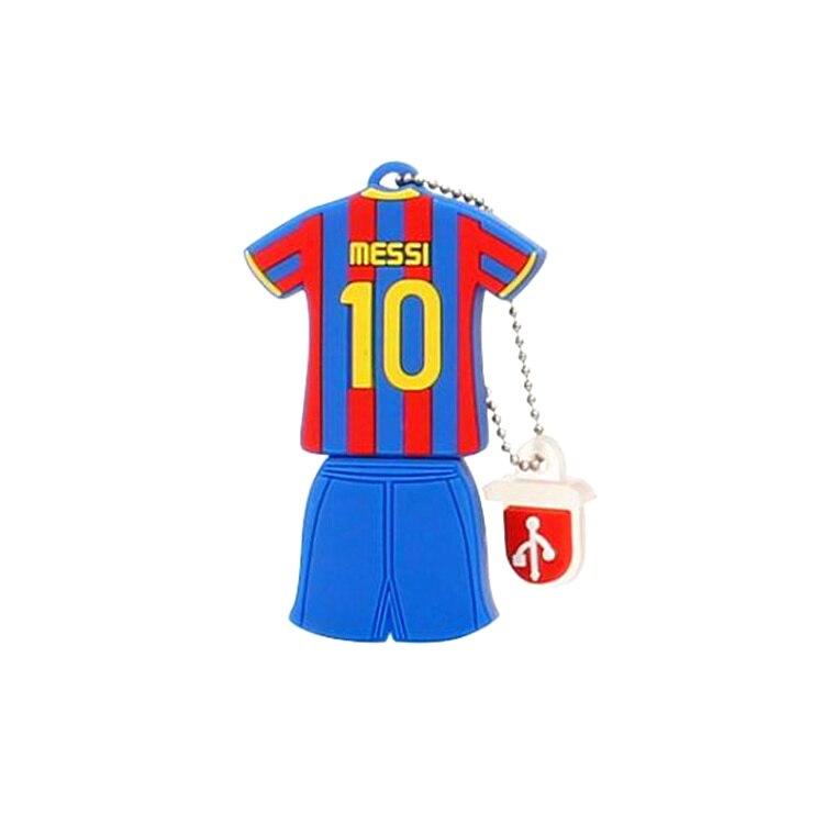 Barcelona Soccer Jersey Usb Flash Drive 4gb 8gb 16gb 32gb 64gb 128gb Pen Drive Usb2.0 Flash Disk High Speed Pendrive Memoria Usb 1