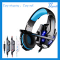 KOTION EACH G9000 3.5mm Gaming Headphone Headband Headset with Microphone LED Light for Mobile Phones/Xbox ONE/PS4