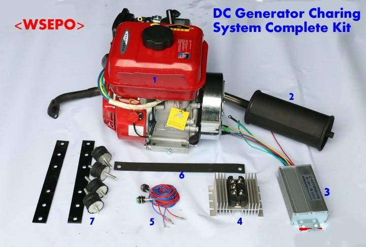 da bateria do gerador gasolina dc 05