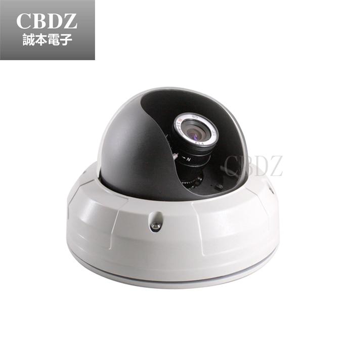 ФОТО Metal Dome CCTV Camera 1/3 'SONY CCD 700TVL Varifocal 3.5 ~ 8mm indoor ceiling installation CBDZ
