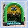 Inflável quente Chip de Tiro Jogo de Golfe 5 m por 4 m Inflável Jogo de Esportes de Golfe