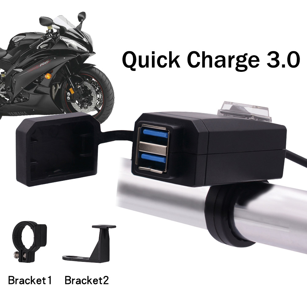2019 Universal USB Motorcycle Charger IPHONE