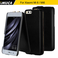 Xiaomi Mi6 Case IMUCA Xiaomi Mi 6 Case Cover 5 15 Inch Flip Leather Case For