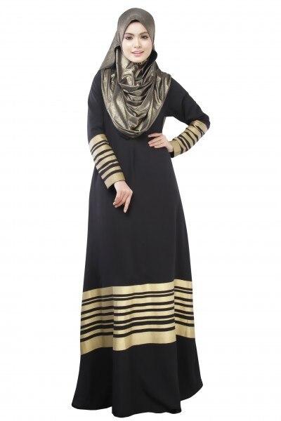Femmes Islamique Vêtements Longue Dubai Jalabiya Robe Caftan Marocain Caftan  Islamique Abaya Turc Mode Musulman Robe Arabe Robe dans Islamique Vêtements  de ... 8d10bf36b30