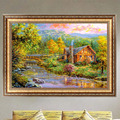 Forest House 5D Diamond Embroidery Painting DIY Cross Stitch Decor
