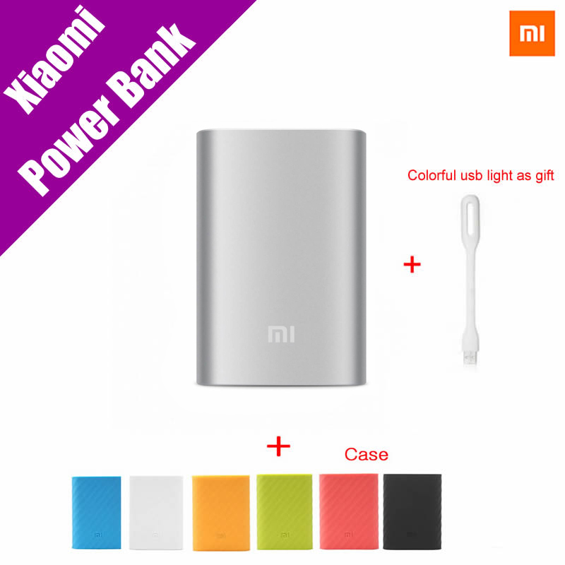 External Battery Pack: Xiaomi Mi Power Bank 10000mAh External Battery Portable Mobile Backup Bank MI Charger  for Android iPhones 7 plus,iPad