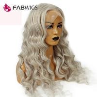 Fabwigs 150% Density Ash Blonde Full Lace Human Hair Wigs Brazilian Remy Kim Kardashian Lace Wigs with Baby Hair