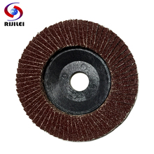 (BY001)  30 Pieces/Lot  Polished 100 one hundred impeller, calcined cloth, polished piece, Flap Disc Grinding ,Louver pad