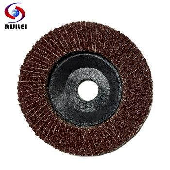 цена на 30PCS 4inch abrasive cutting wheel flexible flap disc aluminum oxide calcined abrasive cloth grinding and polishing metal BY001