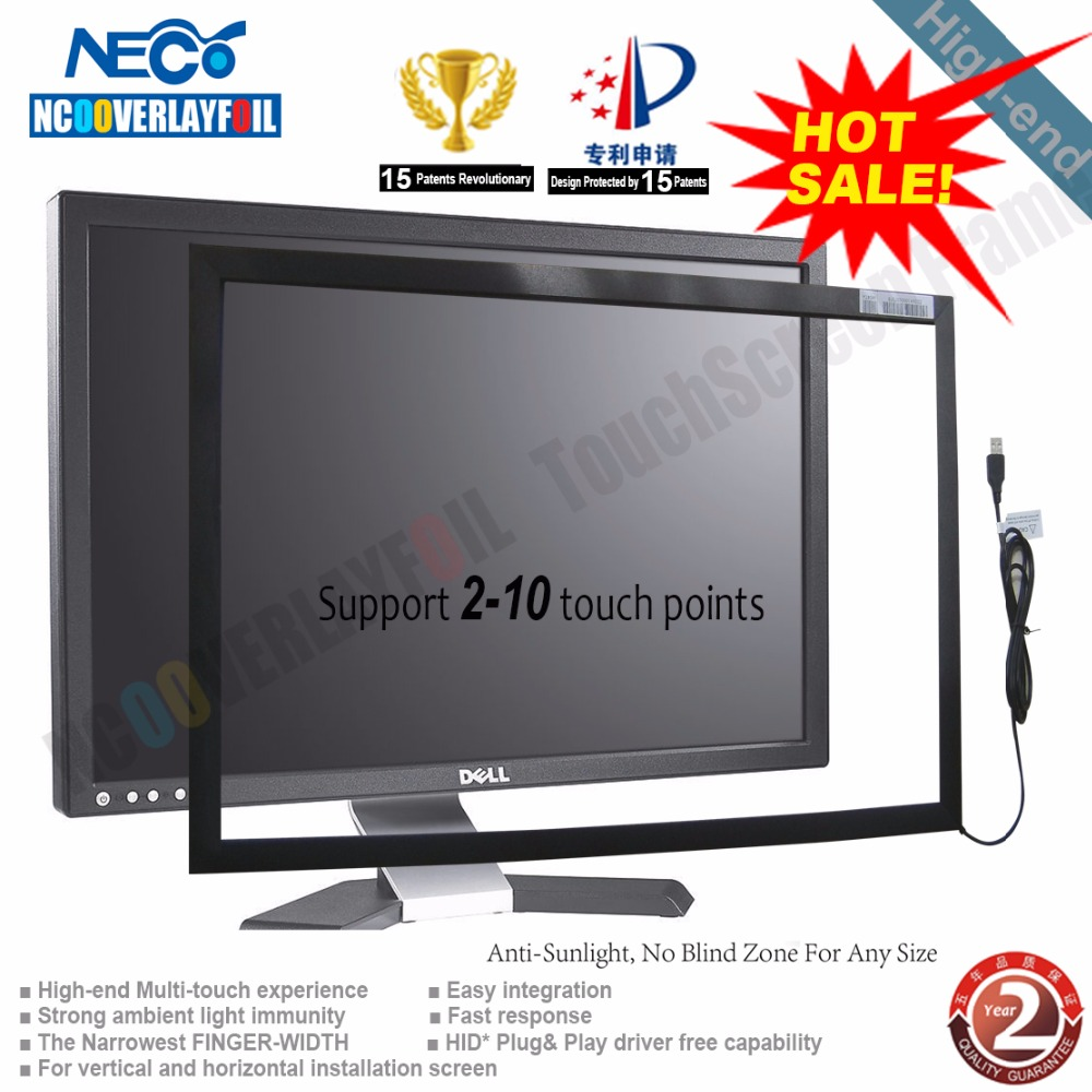 40inch Dual Touch Infrared Touch Screen / Panel/ Frame Without Glass ...
