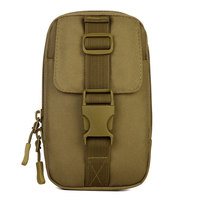 MOLLE Enhance Running Small Muddy Kit Tool Utility Waist Bag Military Field Cell Mobile Phone Package