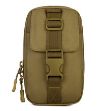 Protector Plus molle mejorar pequeño fangosa Utility kit cintura bolso militar campo Paquete del teléfono móvil gadget táctico monedero