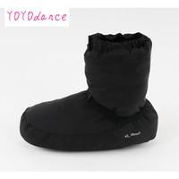 Ladies Black Purple Grey Ballet Castle Flo Ballet Dance Warm Boot Fit for 23cm To 26.5cm Foot Length Warm up Booties