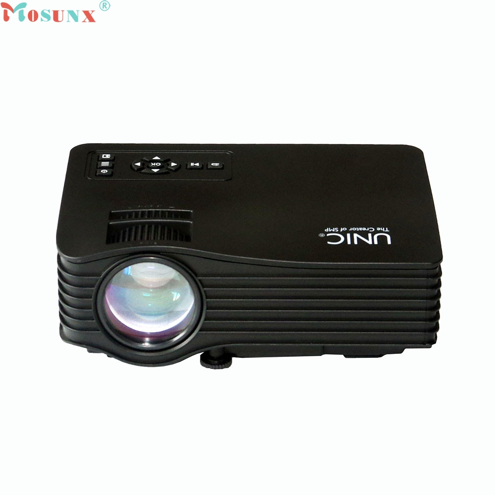 Mosunx Simplestone UC36 LED Multimedia Video Projector Portable For Home Theater 1080P 0314