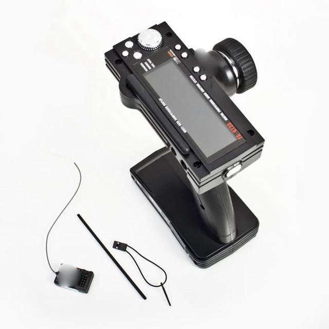 FS-GT3B 2.4G 3CH RC Pistola Transmisor y Receptor de Control Del Barco w/tx barco control toys for boys toys con attenna tube fresco