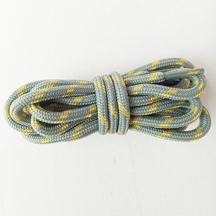 100-160 см спортивные круглые шнурки, 17 цветов, кроссовки, белые шнурки, спортивная обувь, шнурки, спортивная обувь, обувь для скейта, шнурки - Цвет: lightgray yellow