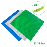 2Pcs General Classic Base Plates Plastic Bricks Baseplates Compatible Legos Minecraft Major Brand Building Block Toys