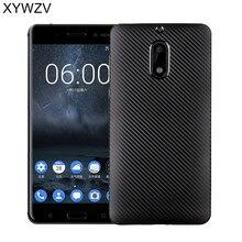 XYWZV For Nokia 6 Case 5.5 Soft TPU Silicone Shockproof Phone Nokia6 Cover Shell TA-1000 Funda